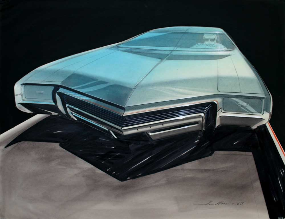 Designing an icon creativity and the american automobile for Garage concept auto