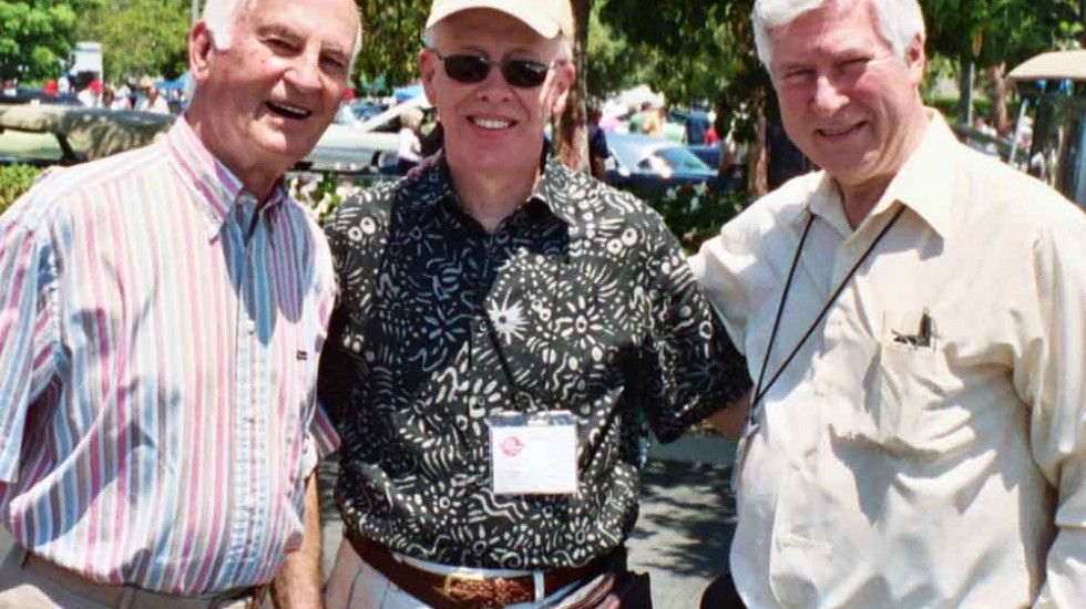 Chuck Jordan, John Mellberg, and Ron VanGeldren